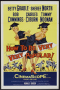 """Movie Posters:Comedy, How to Be Very, Very Popular (20th Century Fox, 1955). One Sheet (27"""" X 41""""). Comedy.. ..."""