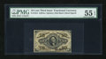Fractional Currency:Third Issue, Fr. 1254 10c Third Issue PMG About Uncirculated 55 EPQ....