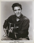 "Movie Posters:Elvis Presley, Elvis Presley in ""King Creole"" (Paramount, 1958). Still (8"" X 10"").. ..."