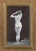 Decorative Arts, French:Other , A FRENCH ENAMEL PLAQUE. Maker unknown, circa 1920. Marks: unmarked.45 x 2-7/8 inches (114.3 x 7.3 cm). ...