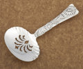 Silver Flatware, American:Tiffany, AN AMERICAN SILVER PIERCED NUT SCOOP. Tiffany & Co., New York,New York, circa 1872. Marks: TIFFANY & CO., STERLING, 753,...