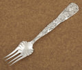 Silver Flatware, American:Tiffany, AN AMERICAN SILVER COLD MEAT SERVING FORK. Tiffany & Co., NewYork, New York, circa 1872. Marks: TIFFANY & CO., STERLING,...