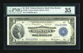 Fr. 708 $1 1918 Federal Reserve Bank Note PMG Choice Very Fine 35