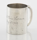 Silver Holloware, American:Cups, AN AMERICAN SILVER CUP . Dominick & Haff, New York, New York,1884. Marks: (925 in rectangle-circle-1884 in diamond),STER...