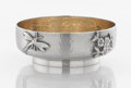 Silver Holloware, American:Open Salts, AN AMERICAN SILVER AND SILVER GILT SALT. George W. Shiebler &Co., New York, New York, circa 1880. Marks: (winged S),STER...