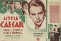 "Movie Posters:Crime, Little Caesar and Smart Money (Warner Brothers, 1931). Heralds (2)(6.75"" X 7"" and 6"" X 8.5"").. ... (Total: 2 Items)"