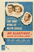 "Movie Posters:Comedy, Mr. Blandings Builds His Dream House (RKO, 1948). One Sheet (27"" X41""). Style A.. ..."