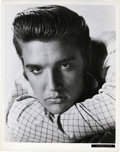 "Movie Posters:Elvis Presley, Elvis Presley in ""Love Me Tender"" (20th Century Fox, 1956). Stills (2) (8"" X 10"").. ... (Total: 2 Items)"