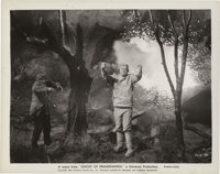 "Lon Chaney Jr., Ralph Bellamy, and Evelyn Ankers in ""The Ghost of Frankenstein"" (Universal, 1942). Stills (3)..."