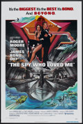 "Movie Posters:James Bond, The Spy Who Loved Me (United Artists, 1977). One Sheet (27"" X 41"")and Pressbooks (2) (Multiple Pages, Various Sizes). James...(Total: 3 Items)"
