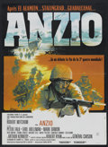 "Movie Posters:War, Anzio (Columbia, 1968). French Petite (22.75"" X 31""). War.. ..."