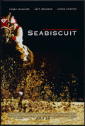 "Movie Posters:Sports, Seabiscuit (Universal, 2003). One Sheet (27"" X 40"") DS Advance. Sports.. ..."