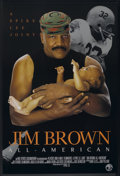 """Movie Posters:Documentary, Jim Brown: All-American (HBO Films, 2002). One Sheet (27"""" X 40""""). Documentary.. ..."""