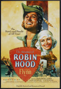 "Movie Posters:Adventure, The Adventures of Robin Hood (Turner Entertainment, R-1989). 50thAnniversary One Sheet (27"" X 40""). Adventure.. ..."