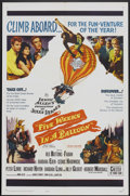 """Movie Posters:Adventure, Five Weeks in a Balloon (20th Century Fox, 1962). One Sheet (27"""" X41""""). Adventure.. ..."""