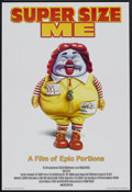 "Movie Posters:Documentary, Super Size Me (Samuel Goldwyn, 2004). One Sheet (27"" X 40"") SS. Documentary.. ..."