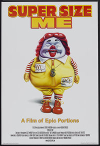 "Super Size Me (Samuel Goldwyn, 2004). One Sheet (27"" X 40"") SS. Documentary"