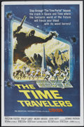 "Movie Posters:Science Fiction, The Time Travelers (American International, 1964). One Sheet (27"" X41"") and Pressbook (Multiple Pages, 11"" X 17"") . Science... (Total:2 Items)"