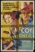 "Movie Posters:Western, The Westerner (Columbia, 1934). One Sheet (27"" X 41""). Western.. ..."