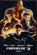 "Movie Posters:Action, Fantastic Four Lot (20th Century Fox, 2005). One Sheets (4) (27"" X 40"") DS Advance. Action.. ... (Total: 4 Items)"