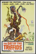 """Movie Posters:Science Fiction, The Day of the Triffids (Allied Artists, 1962). Poster (40"""" X 60"""").Science Fiction.. ..."""