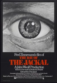 """The Day of the Jackal (CIC, 1973). British One Sheet (27"""" X 40"""") Flat-Folded. Thriller"""