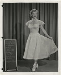 "Movie Posters:Comedy, Marilyn Monroe in ""We're Not Married"" (20th Century Fox, 1952).Wardrobe Test Still (8"" X 10"").. ..."
