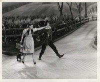 """Judy Garland and Ray Bolger in """"The Wizard of Oz"""" (MGM, 1939). Still (8"""" X 10"""")"""