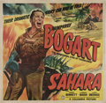 "Movie Posters:War, Sahara (Columbia, 1943). Six Sheet (81"" X 81"").. ..."