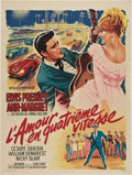 "Movie Posters:Elvis Presley, Viva Las Vegas (MGM, 1964). French Grande (47"" X 63"").. ..."