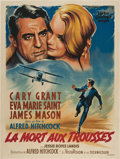 "Movie Posters:Hitchcock, North by Northwest (MGM, 1959). French Grande (47"" X 63"").. ..."