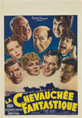 "Movie Posters:Western, Stagecoach (United Artists, 1940's). Post-War Belgian (11"" X 15.5"").. ..."