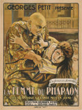"Movie Posters:Drama, The Wife of the Pharaoh (Europaische Film-Allianz, 1922). French Grande (47"" X 63"").. ..."