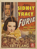 "Movie Posters:Crime, Fury (MGM, 1936). Pre-War Belgian (23.75"" X 30.5"").. ..."