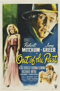 "Out of the Past (RKO, 1947). One Sheet (27"" X 41"")"