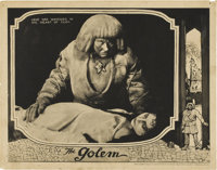 "The Golem (Paramount, 1920). Lobby Card (11"" X 14"")"