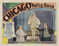 "Movie Posters:Crime, Chicago (Pathé, 1927). Lobby Card (11"" X 14"").. ..."