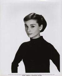 "Audrey Hepburn Still, Proof, and Negative (Paramount, 1956). Stills (8"" X 10""). ... (Total: 3 Items)"