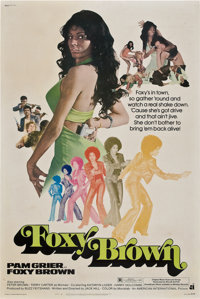 "Foxy Brown (American International, 1974). Poster (40"" X 60"")"
