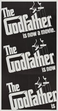 "Movie Posters:Crime, The Godfather (Paramount, 1972). Three Sheet (41"" X 81"").. ..."