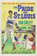 """Movie Posters:Sports, The Pride of St. Louis (20th Century Fox, 1952). One Sheet (27"""" X 41"""").. ..."""