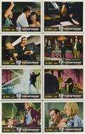 """Movie Posters:James Bond, Goldfinger (United Artists, 1964). Lobby Card Set of 8 (11"""" X 14"""").. ..."""