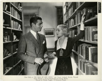 "Clark Gable and Carole Lombard in ""No Man of Her Own"" (Paramount, 1932). Stills (5) (8"" X 10"")..."
