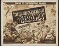 "Movie Posters:War, With the Marines at Tarawa Lot (Universal, 1944). Half Sheets (3)(22"" X 28"") and Inserts (2) (14"" X 36"").. ... (Total: 5 Items)"