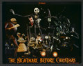 "Movie Posters:Fantasy, The Nightmare Before Christmas (Touchstone, 1993). Lobby Card Setof 8 (11"" X 14""). Fantasy.. ... (Total: 8 Items)"