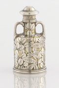 Silver Smalls:Other , AN AMERICAN SILVER AND SILVER GILT PERFUME BOTTLE. Tiffany &Co., New York, New York, circa 1870-75. Marks: TIFFANY &CO.,...