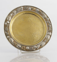 AN AMERICAN SILVER AND SILVER GILT PLATE Whiting Manufacturing Company, New York, New York, circa 1890 Marks: (