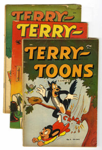Terry-Toons Comics Group (St. John/Pines, 1948-53) Condition: Average VG.... (Total: 18 Comic Books)