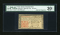 Colonial Notes:New Jersey, New Jersey March 25, 1776 18d with John Hart Signature PMG VeryFine 30 EPQ....