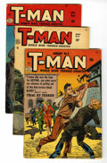 Golden Age (1938-1955):Crime, T-Man Group (Quality, 1952-56).... (Total: 12 Comic Books)